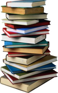 Stock Image Book Pile